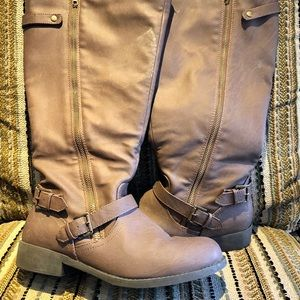 Shoes - Horse riding boot / wide calf